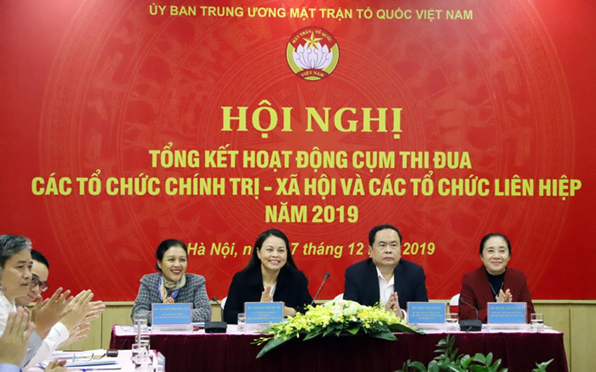 Hội nghị Tổng kết hoạt động cụm thi đua